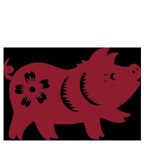 Pig Series I, II
