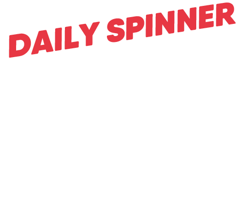 daily spin banner